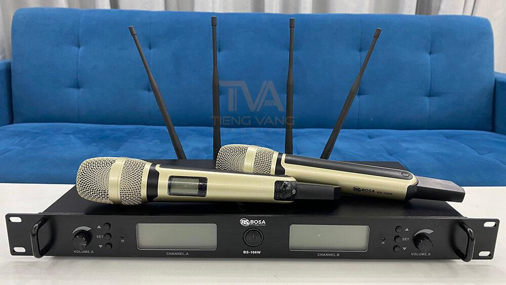 micro không dây Bosa BS 106W
