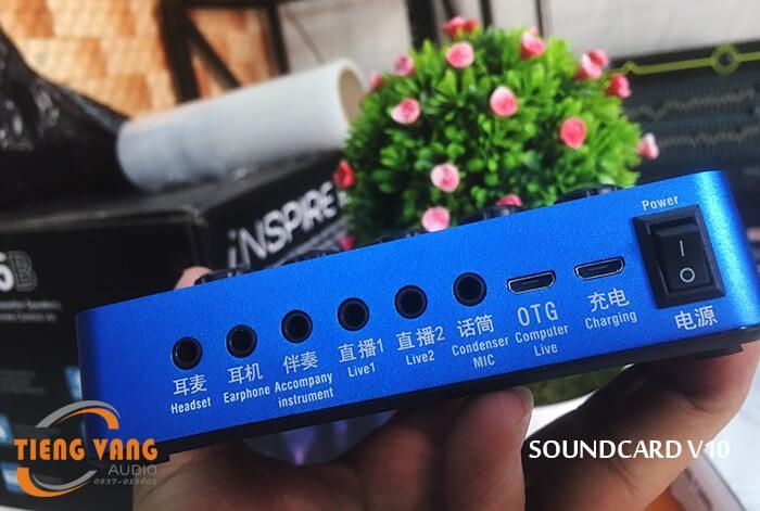 Soundcard V10 giá rẻ hcm