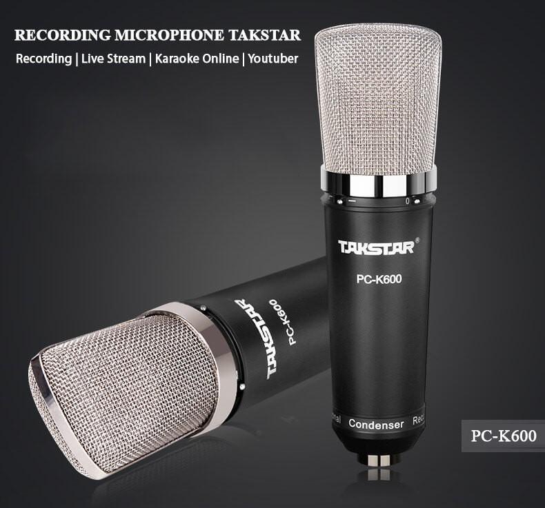 Micro thu âm Takstar PC-K600 chính hãng