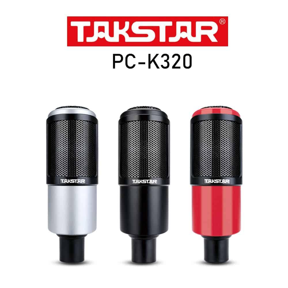 Micro Thu Âm Takstar PC K320