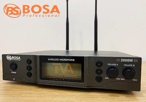 Bộ thu micro đeo tai Bosa 2000w