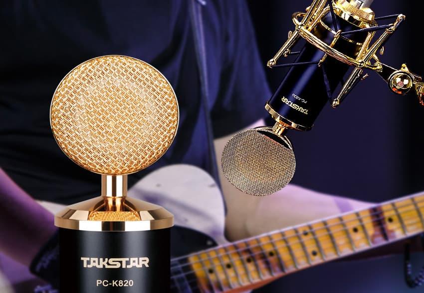 Micro thu âm Takstar PC K820