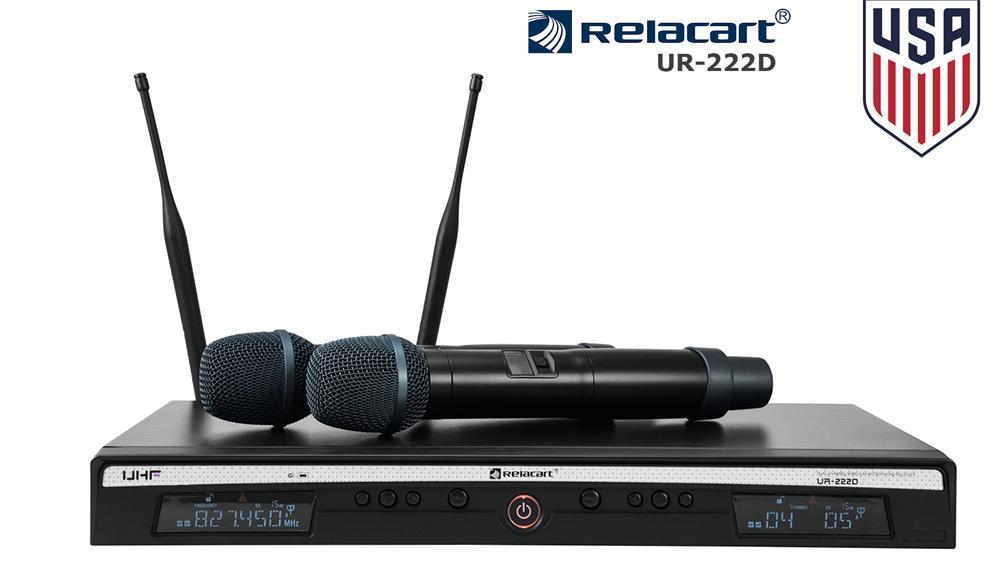 Micro không dây Relacart UR 222D