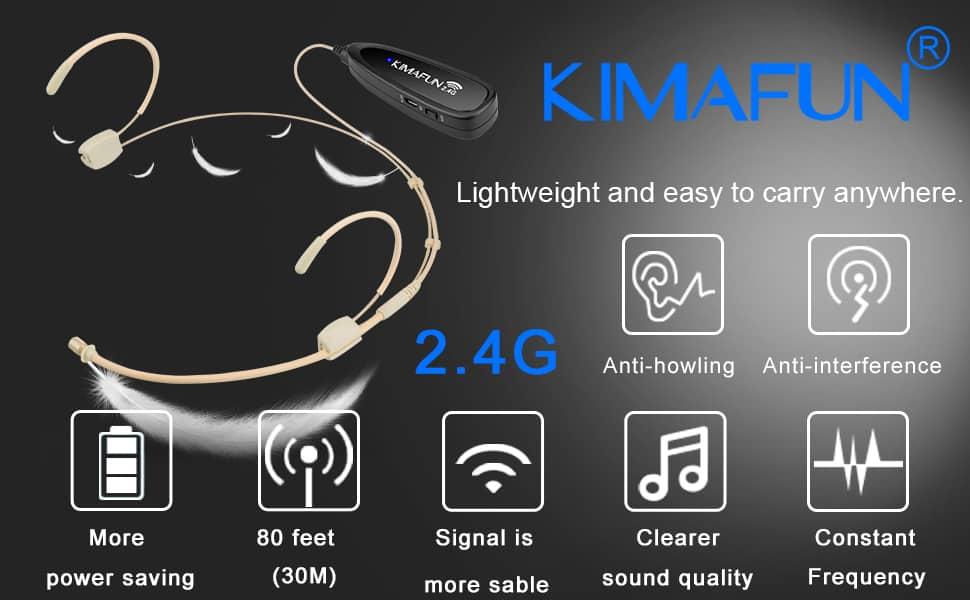 Mic đeo tai hạt gạo kimafun KM G120