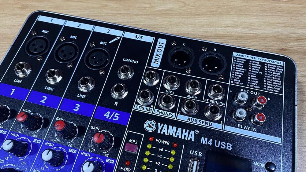 Mixer yamaha m4 usb giá rẻ