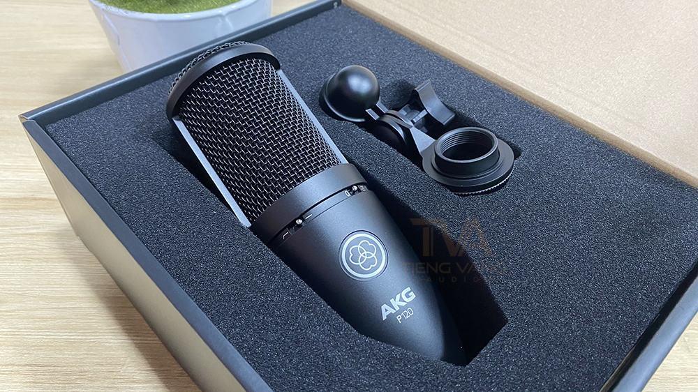 Micro thu âm AKG P120 cao cấp
